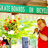 WARREN DILLAWAY / Star Beacon<br /> DONALD MONDA performs with the Cruizin Crooners during the Summer Concert Series at Peleg Park in Ashtabula Township.