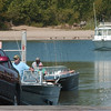 WARREN DILLAWAY / Star Beacon<br /> BOATERS WAIT their turn at the Conneaut public dock boat ramp Friday afternoon.