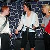 WARREN DILLAWAY / Star Beacon<br /> DAVID STOUFFER (left), Mercutio, and Quinn Yokie, Tibalt, duel it out as Sarah Fetsko, Benvolio, (center) plays peacemaker during Romeo and Juliet at the Harbor Playhouse Theatrical Co-op.