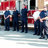 WARREN DILLAWAY / Star Beacon<br /> THE ASHTABULA Fire Department was one stop on the  Freedom Walk Tuesday afternoon in Ashtabula. The event was held to remember those killed during the Sept. 11, 2001 terrorist attacks.