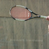 WARREN DILLAWAY / Star Beacon<br /> SARAH JEPPESON of Jefferson returns a shot Thursday during a second singles home match at Lakeside.