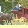WARREN DILLAWAY / Star Beacon<br /> STAGE COACH rides are just one of the entertainment options at the Pioneer Picnic on Middle Road in Pierpont Township. The event is open to the public and continues today starting at 10 a.m.