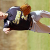 WARREN DILLAWAY / Star Beacon<br /> JOHNATHAN WEST pitches for Conneaut on Friday afternoon during a game at Edgewood.
