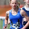 WARREN DILLAWAY / Star Beacon<br /> GRACE STEIMLE of Edgewood won the 3,200 meter run on Saturday during the Pymatuning Valley Invitational in Andover Township.