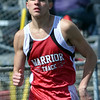 WARREN DILLAWAY / Star Beacon<br /> ZACH LEMAY of Edgewood runs the 800 meter run on Saturday during the Pymatuning Valley Invitational in Andover Township.