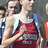 WARREN DILLAWAY / Star Beacon<br /> CHRIS LEMAY of Edgewood finished second in the 3,200 meter run on Saturday during the Pymatuning Valley Invitational in Andover Township.