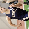 WARREN DILLAWAY / Star Beacon<br /> ERIK BRAUN, a 2012 Geneva High School graduate running for Thiel, runs the 600 meter run on Saturday at Spire Institute in Harpersfield Township.