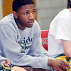 WARREN DILLAWAY / Star Beacon<br /> KEITH GRIFFIN of Lakeside watches the action on Thursday night at Edgewood.