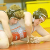 WARREN DILLAWAY / Star Beacon<br /> MICHAEL COUP of Lakeside (left) of Derrik Elrod of Edgewood during a 182 pound bout on Thursday night at Edgewood.