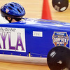 WARREN DILLAWAY/ Star Beacon<br /> MAKAYLA HURLEY of Tallmade competes in the Northeast Ohio Soap Box Derby Rally Race at Ashtabula Towne Square on Saturday morning.