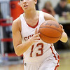 WARREN DILLAWAY / Star Beacon<br /> LINDSEY MAYLE of Geneva prepares to pass on Saturday during a home game with Lakeside.