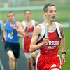 WARREN DILLAWAY / Star Beacon<br /> CHRIS LEMAY of Edgewood leads the 4 x 800 Meter Relay on Thursday afternoon during a dual meet at Grand Valley.