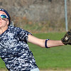 WARREN DILLAWAY / Star Beacon<br /> LEXI ZAPPITELLI pitches for Conneaut on Friday against Kirtland at Skippon Park in Conneaut.