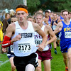 WARREN  DILLAWAY | Star Beacon<br /> Jefferson's Brandon Parks (2173) leads a group of runners on Saturday afternoon during the Division II varsity race at the Boardman Invitational.