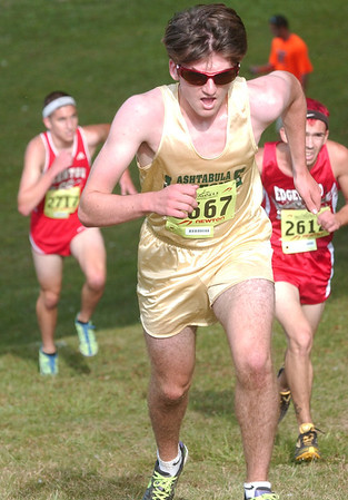 WARREN DILLAWAY / Star Beacon<br /> BRADY BUNNELL of Lakeside n finished ninth in the War on the Shore Monday at Lake Shore Park in Ashtabula Township.