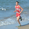 WARREN DILLAWAY / Star Beacon<br /> CHRIS LEMAY (149) of Edgewood won the War on the Shore Cross Country Invitational at Lake Shore Park in Ashtabula on Monday afternoon.