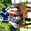 WARREN DILLAWAY / Star Beacon<br /> BYRON SACKETT, owner of Lonely Oak Stage Line, gives carraige rides at the 124th Pierpont Picnic on Saturday in Pierpont Township,