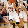 WARREN DILLAWAY / Star beacon<br /> JACOB ADAMS of Jefferson leads a fastbreak   on Tuesday evening during a home game with Struthers.
