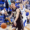WARREN DILLAWAY / Star Beacon<br /> MORGAN BABIC (31) of Pymatuning Valley leads a break with Austin Spoon of Grand Valley following the play on Friday evening in Orwell.