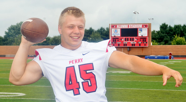 WARREN DILLAWAY / Star Beacon<br /> KYLE KREMILLER hopes to help the Perry Pirates have a successful season.