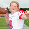 WARREN DILLAWAY / Star Beacon<br /> RYAN KAHOUN of  Perry is one of the quarterbacks for the Perry Pirates.