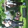 WARREN DILLAWAY / Star Beacon<br /> MEMBERS OF the Northeastern Ohio Chapter of the Sons of the American Revolutionary War led a grave marking ceremony for Revolutionary War veterans at four Ashtabula County ceremonies on Friday. Kenneth Brown (left) and Don Taft  pay respects at the grave of John Pickett at Andover Congregational Church Cemetery.