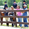 WARREN DILLAWAY / Star Beacon<br /> DOZENS OF people watch the Runnin' Free & Silver Stir-Ups 44th Annual Open Horse and Pony Show on Friday at the Ashtabula County Fairgrounds.