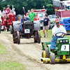 "WARREN DILLAWAY / Star Beacon<br /> ROBERT ""BO"" SEMAI of Wayne Township participates in a parade at the Ashtabula County Engine Club Show in Wayne Township on Saturday."