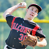 WARREN DILLAWAY / Star Beacon<br /> ETHAN PAWLOWSKI of Jefferson pitches during the Ashtabula County Senior All Star Game on Monday at Havens Complex in Jefferson Township.