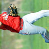 WARREN DILLAWAY / Star Beacon<br /> CONNOR MCLAUGHLIN, Edgewood shortstop, throws to first on Friday during a Division II sectional championship home game with Perry.