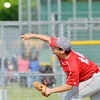 WARREN DILLAWAY / Star Beacon<br /> JOSE SANCHEZ pitches for Geneva on Tuesday during Division II district semifinal action against Perry at Jefferson.