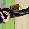 WARREN DILLAWAY / Star Beacon<br /> ALYSSA IRONS pitches for Jefferson on Thursday during Division II district semifinal action at the Jefferson Area Girls Softball Complex.