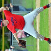WARREN DILLAWAY / Star Beacon<br /> PATRICK KANTOLA of the Conneaut Minor League Indians pitches on Tuesday evening at Skippon Park.
