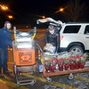 WARREN DILLAWAY / Star Beacon<br /> J.P. LEYDA  (left) and Dave Miller, both of Roaming Shores, took advantage of deals at The Home Depot in Ashtabula Township early Friday morning.