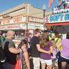 WARREN DILLAWAY / Star Beacon<br /> FOOD IS big part of the 2014 Grape Jamboree in downtown Geneva this weekend.