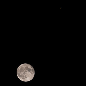 Mars and October full moon