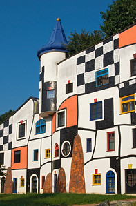 Hundertwasser's Building in Bad Blumau