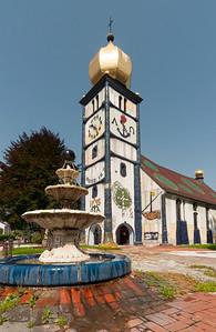 Hundertwasser Church, Barnbach, Austria