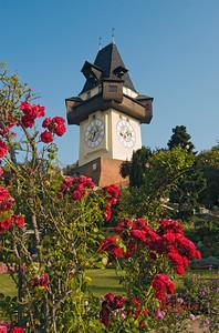Uhrturm (Clock Tower), Grazer Schlossberg Hill, Graz, Styria (Austria)
