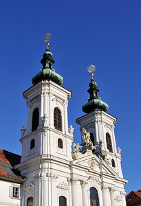 Mariahilf Convent and Church in Graz, Austria