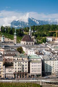 Old Town (Altstadt) of Salzburg, Austria