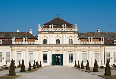 Lower Belvedere Castle, Vienna, Austria