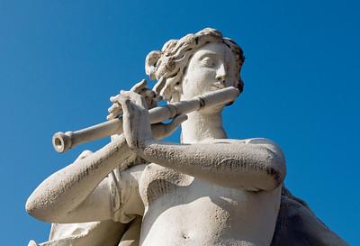 Baroque Sculpture, Belvedere Park, Vienna
