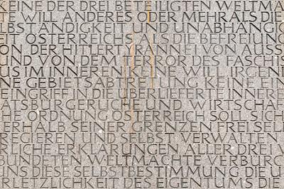 Monument against War and Fascism (Mahnmal gegen Krieg und Faschismus) by Alfred Hrdlicka, Albertinaplatz, Vienna (Wien), Austria
