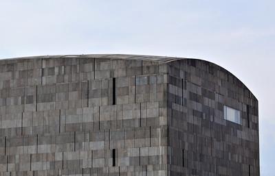 Basalt Lava Facade, MUMOK, Vienna, Austria