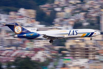 Downtown landing / Quito airport, Ecuador