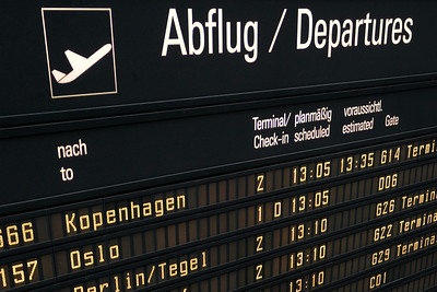 Boarding / Munich airport, Germany