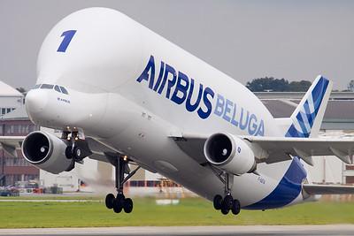 Beluga / Finkenwerder airport, Germany