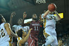 Jan 2, 2016: New Mexico State Aggies forward Johnathon Wilkins (11) battles for a rebound in a game between New Mexico State and UC Irvine at the Bren Events Center in Irvine, Calif. The Anteaters defeated the Aggies 54-52.