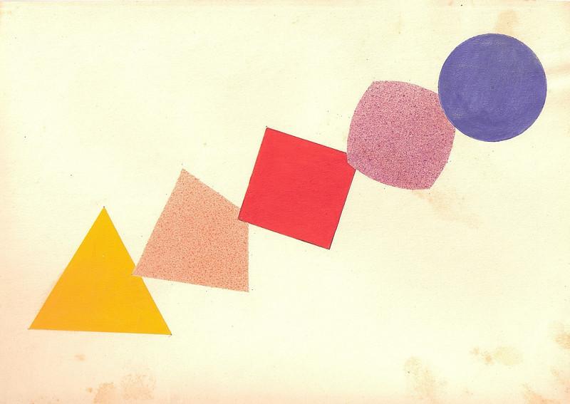 Vorkurs Work Under Wassily Kandinsky